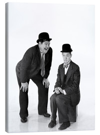 Canvas print  Laurel and Hardy