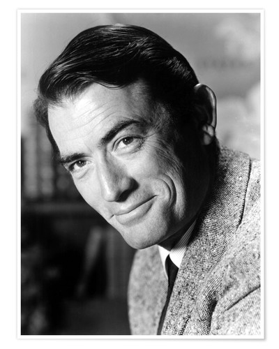 Premium poster Gregory Peck