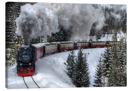 Canvas  Brocken Railway - Steffen Gierok