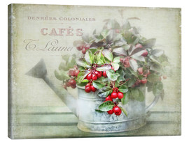 Canvas print  red berries - Lizzy Pe