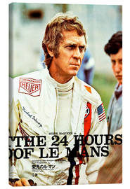 Canvas print  The 24 hours of Le Mans