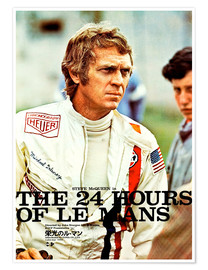 Premium poster  The 24 hours of Le Mans