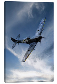 Canvas print  Spitfire Pass - airpowerart