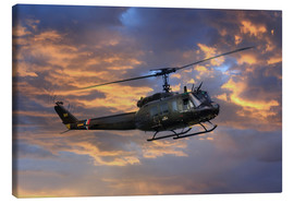 Canvas print  Huey - airpowerart