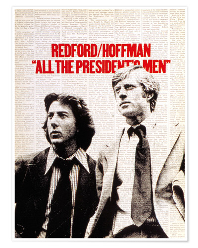 Premium poster All the President's Men