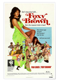 Premium poster FOXY BROWN