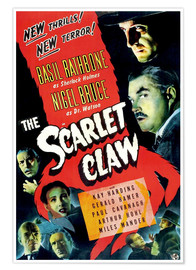 Premium poster The Scarlet Claw