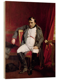 Wood  Napoleon after his Abdication - Hippolyte Delaroche