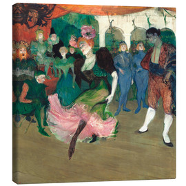 Canvas print  Marcelle Lender, the Bolero dance - Henri de Toulouse-Lautrec