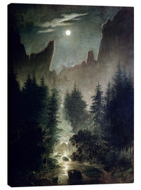 Canvas print  Uttewalder basic - Caspar David Friedrich