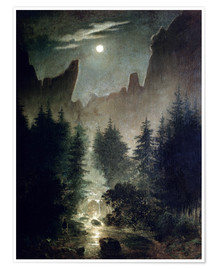 Premium poster  Uttewalder basic - Caspar David Friedrich