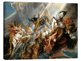 Canvas print  Fall of Phaeton - Peter Paul Rubens