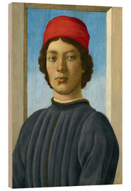Wood  Portrait of a Youth - Fra Filippo Lippi