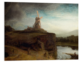 Foam board print  The Mill - Rembrandt van Rijn