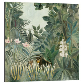 Alu-Dibond  Equatorial jungle - Henri Rousseau