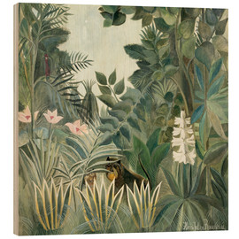 Wood  Equatorial jungle - Henri Rousseau