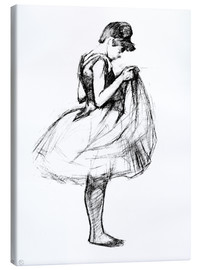 Canvas print  Dancer in skirt - Henri de Toulouse-Lautrec