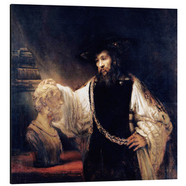 Rembrandt van Rijn - Aristotle with a Bust of Homer
