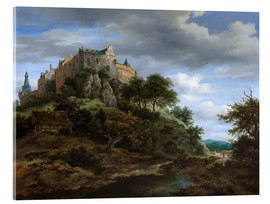 Acrylic print  The castle Bentheim - Jacob Isaacksz van Ruisdael