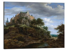 Aluminium print  The castle Bentheim - Jacob Isaacksz van Ruisdael