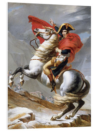 Forex  Napoleon Crossing the Grand Saint-Bernard Pass - Jacques-Louis David