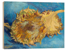 Vincent van Gogh - Two sunflowers
