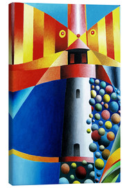 Canvas  Lighthouse Fish - Gerhard Kraus
