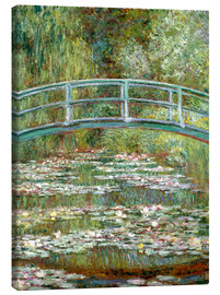 Canvas  the japanese bridge - Claude Monet