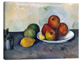 Canvas print  Apples - Paul Cézanne