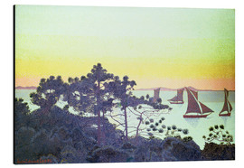 Aluminium print  The Pointe de la Galere - Henri Edmond Cross
