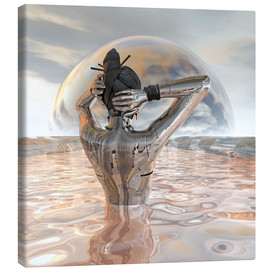 Canvas print  energy source II - diuno