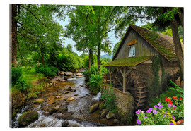 Acrylic print  Mill in the black forest - FineArt Panorama