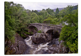 Aluminium print  Scotland Telfordbridge at Invermoriston - Karin Döling