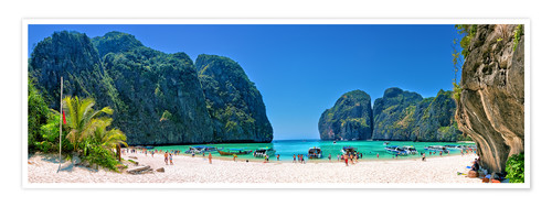 Premium poster Maya Bay - The Beach - Thailand