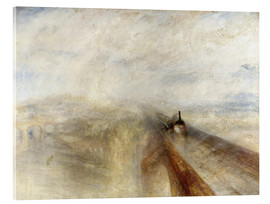 Acrylic glass  Rain, Steam and Speed - Joseph Mallord William Turner