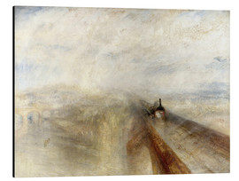 Aluminium print  Rain, Steam and Speed - Joseph Mallord William Turner
