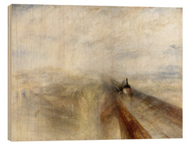 Wood  Rain, Steam and Speed - Joseph Mallord William Turner