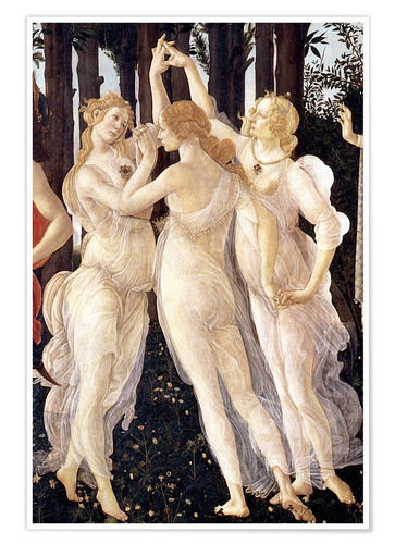 Premium poster The Three Graces