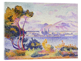 Acrylic print  Antibes, Nachmittags (Antibes, Apres-midi). 1908. - Henri Edmond Cross