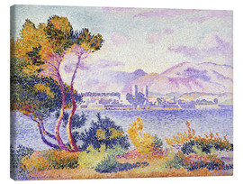 Canvas print  Antibes, Nachmittags (Antibes, Apres-midi). 1908. - Henri Edmond Cross