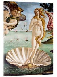 Acrylic glass  The Birth of Venus (detail) - Sandro Botticelli