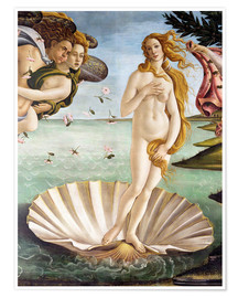 Premium poster  The Birth of Venus (detail) - Sandro Botticelli