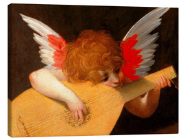 Canvas print  Music angel - Giovanni Battista Rosso Fiorentino
