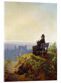 Acrylic print  Peaceful Evening - Carl Spitzweg