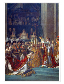 Premium poster Coronation of Empress Josephine