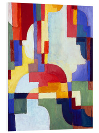 Forex  Coloured Forms I - August Macke