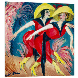 Forex  Two red dancers - Ernst Ludwig Kirchner