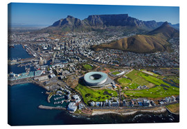 Canvas print  Aerial view of Cape Town Stadium - David Wall