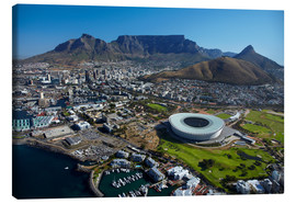 Canvas  Cape Town Stadium and Table Mountain - David Wall