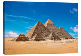 Canvas  Pyramids of Giza - Miva Stock